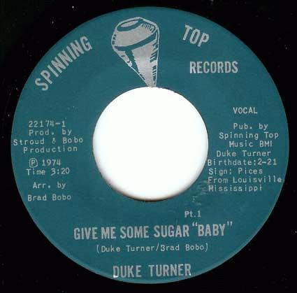 Duke Turner Give Me Some Sugar